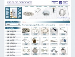 Gifts of Distinction Home Page Makeover